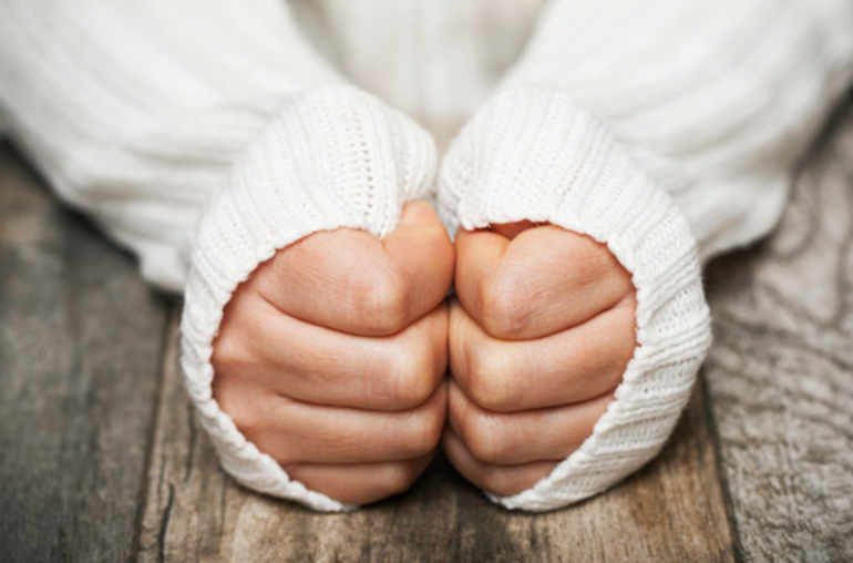 Coups de froid sur les doigts - Planete sante