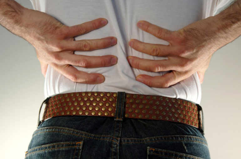 Douleurs au dos