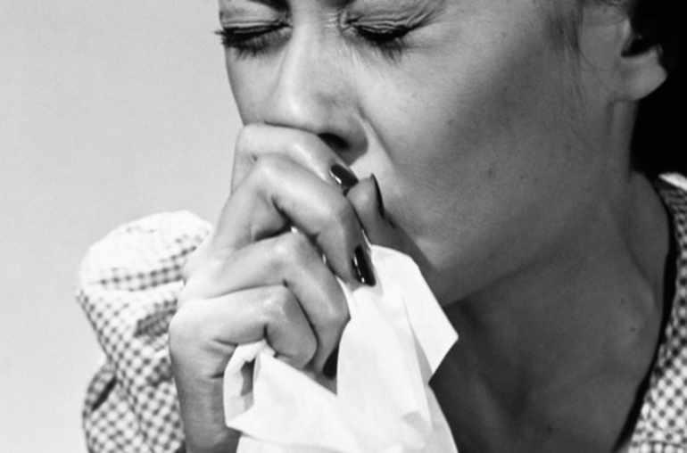 Toux persistante et mal de gorge