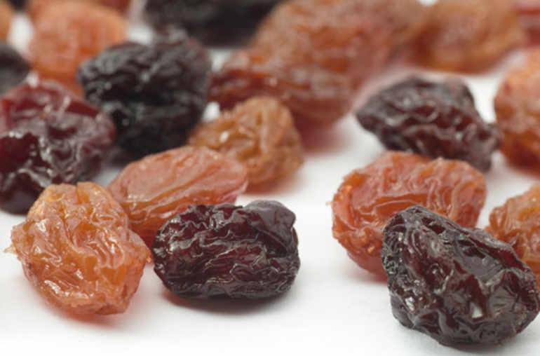 Raisins secs pour collation id ale planete sante - Maladie du raisin photo ...