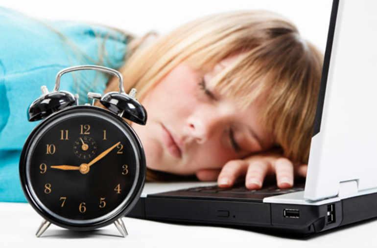 Tes adolescents sont fatigués