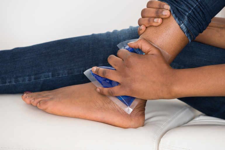 acheter populaire garantie de haute qualité chaussures de tempérament Cheville, et si c'était une entorse? - Planete sante