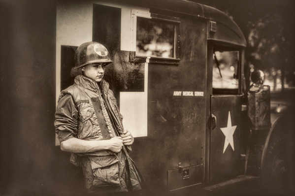 under-age-soldier-serving-in-wwii-ambulance-driver
